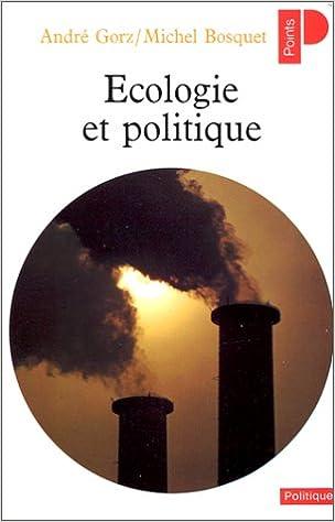Livre gratuits Ecologie et politique pdf