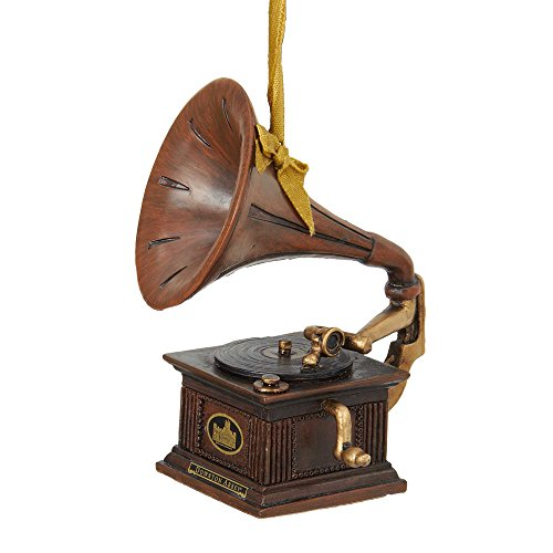 Kurt Adler Downton Abbey Gramophone Ornament,