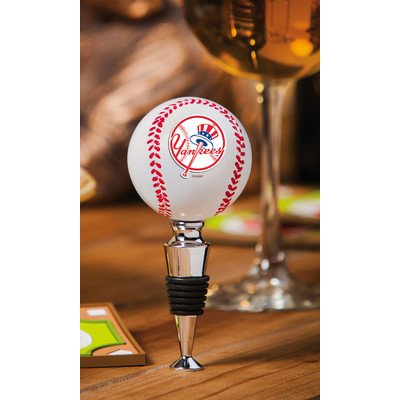 MLB Baseball Bottle Stopper - New York Yankees