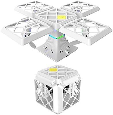 LFOZ Plegado, Mini Dron Cuadrado, Quadcopter, Drone Volador De ...