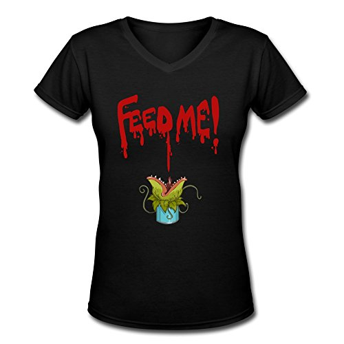 Little Shop Of Horrors Feed Me V-Neck