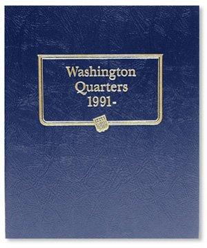 Whitman Harris Washington Quarters Album, 1991-2000 by Whitman Coins