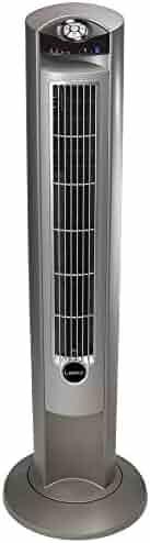 Lasko Wind Curve Fan with Fresh Air Ionizer, 42-Inch, Silver (2551)