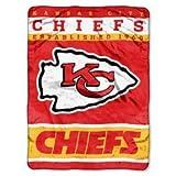 Kansas City Chiefs NFL Royal Plush Raschel (12th Man Series) (60in x 80in)