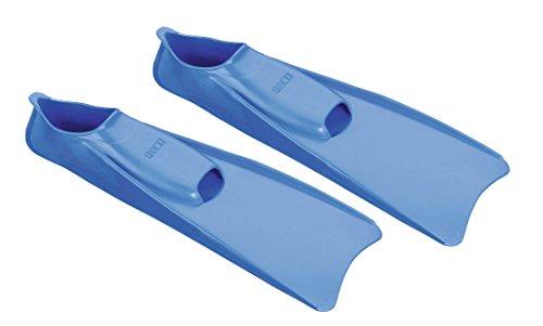 Beco 9910 - Aletas de natación (caucho), color naranja azul - azul