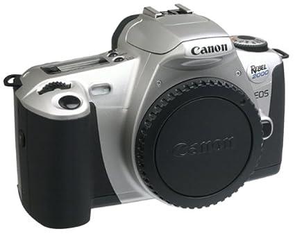 amazon com canon eos rebel 2000 35mm slr camera body only slr rh amazon com Canon EOS Rebel 35Mm Manual Canon EOS 300 Manual PDF