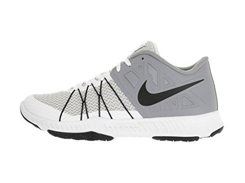 Nike Mens Zoom Tåg Otroligt Snabb Crosstrainer Vit / Svart Stealth Varg Grå