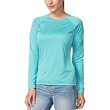 Baleaf Women's UPF 50+ Sun Protection Long Sleeve Outdoor Performance T-Shirt