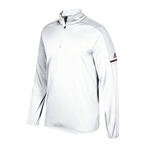 cheap sale affordable for cheap price adidas Game Built Long Sleeve Quarter White-maroon sale cheapest price clearance 2015 new vq9XzppY