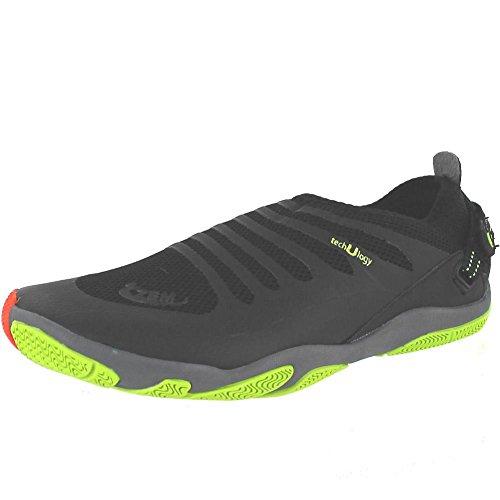 ZEMgear 3000 Men's/Women's U EX ROUND Toe Shoes BLACK/BLACK M6W7