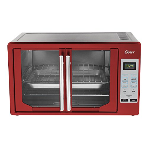 Oster TSSTTVFDDG-R French Door Toaster Oven, Extra Large, Red 3
