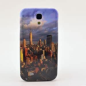 Godlike-ships in 48 hoursNew York City Building Pattern Plastic Protective Back Cover for Samsung Galaxy S4 I9500