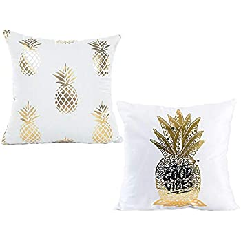 Amazon.com: 4TH Emotion Funda de almohada de piña: Home ...
