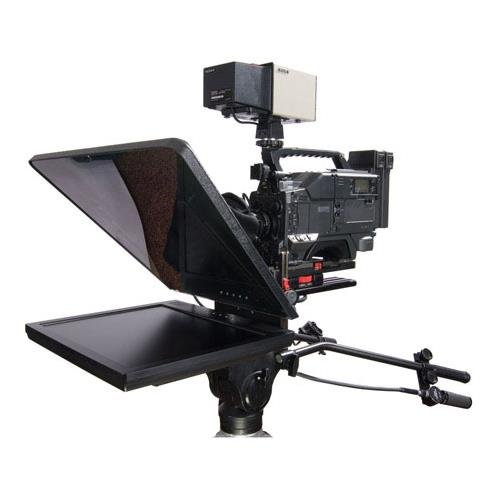 Prompter People ProLine Studio 19 Teleprompter with Reversing Monitor, 400 Nits Brightness, Up to 1200x1024 Resolution, 500:1 Contrast Ratio by Prompter People
