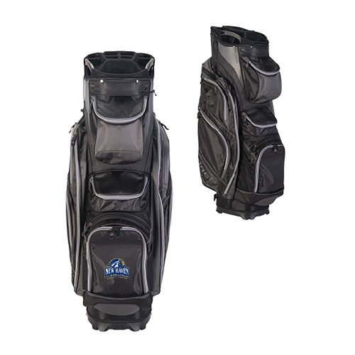 New Haven Callaway Org 14 Black Cart Bag 'Official Logo' by CollegeFanGear