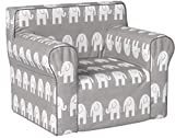 Product review for Here and There Kids Chair - Gray Elephant .
