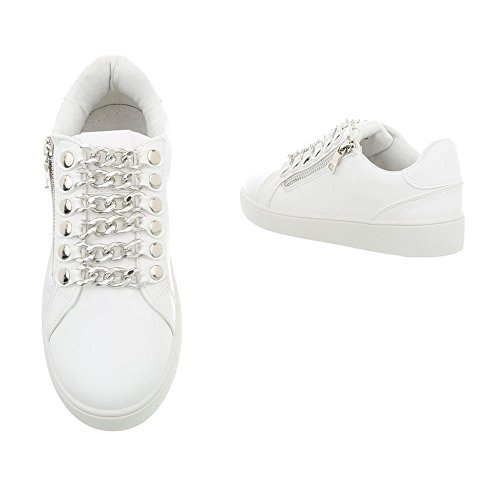 Mode Femme Baskets Plat Design Sneakers Ital Espadrilles Low Chaussures g7zCB