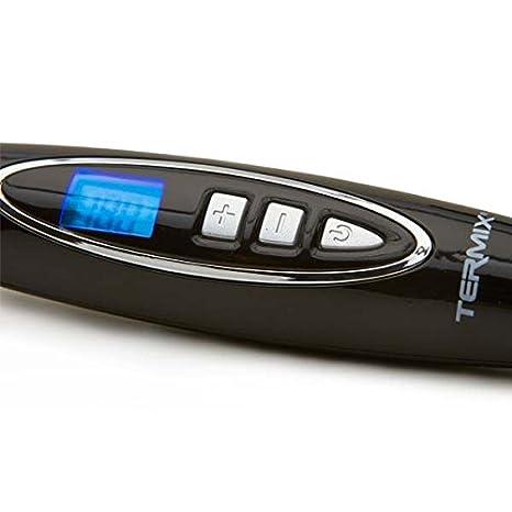 Termix Cepillo alisador de pelo eléctrico redondo Pro-Styling Brush- Sistema de infrarrojos y iónico, que evitan la electricidad estática y aportan ...
