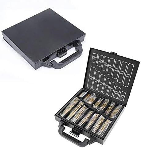 Drill Bit Sets 99Pc Hss Durable Steady Heavy Duty Hole Saw Tools Drill Bit Set Precision High Speed Coated Titanium Drill Sets