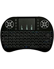 MakerSpot Mini 2.4GHz Wireless Keyboard with Touchpad Mouse Compatible with Android TV Box ,Raspberry Pi, Smart TV, PC