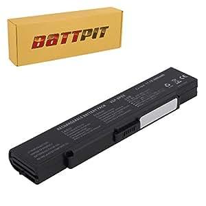 Battpit Recambio de Bateria para Ordenador Portátil Sony VAIO VGN-S4XP (4400 mah)