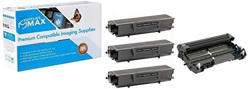 485-4/_485-5VB SuppliesMAX Compatible Replacement for OCE-Imagistics FX-3000 Drum//Toner Value Combo Pack 1-Drum//3-Toners