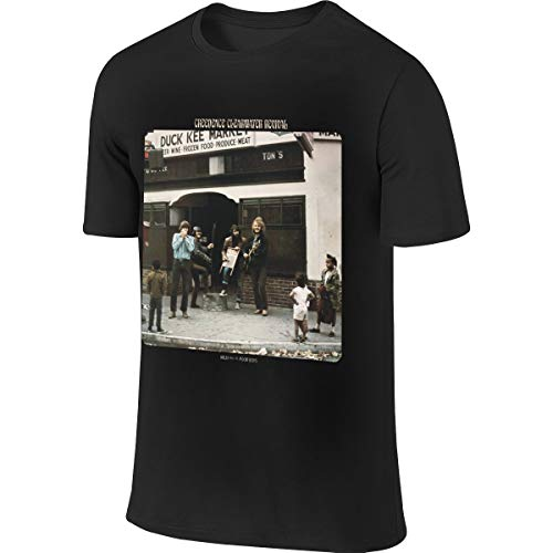 Catherine B Rosa Creedence Clearwater Revival Willy and The Poor Boys Fashion Men's Short Sleeve T-Shirt M Black