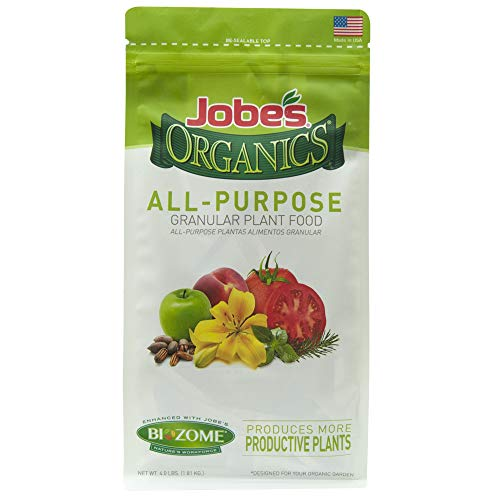Jobe's Organics All Purpose Granular Fertilizer, 4 lb