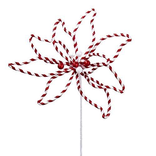 Poinsettia Candy - Kurt Adler 15