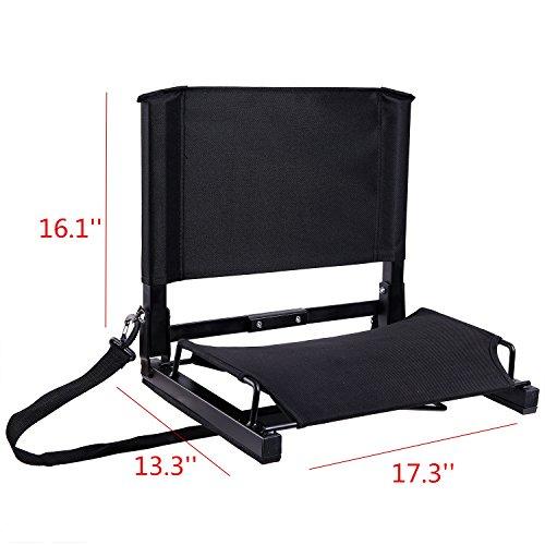 Stadium Seats Product : Ohuhu stadium seats bleacher chairs seat with backs and