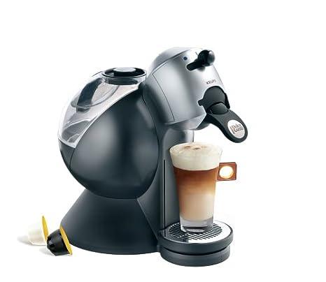 Krups Dolce Gusto KP2000 Máquina de café en cápsulas 1.3L Negro, Plata - Cafetera