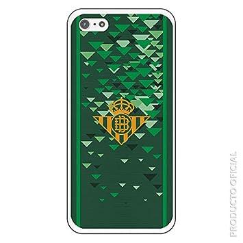 Carcasa Oficial Betis Escudo Amarillo compatible con iPhone 5/5S ...