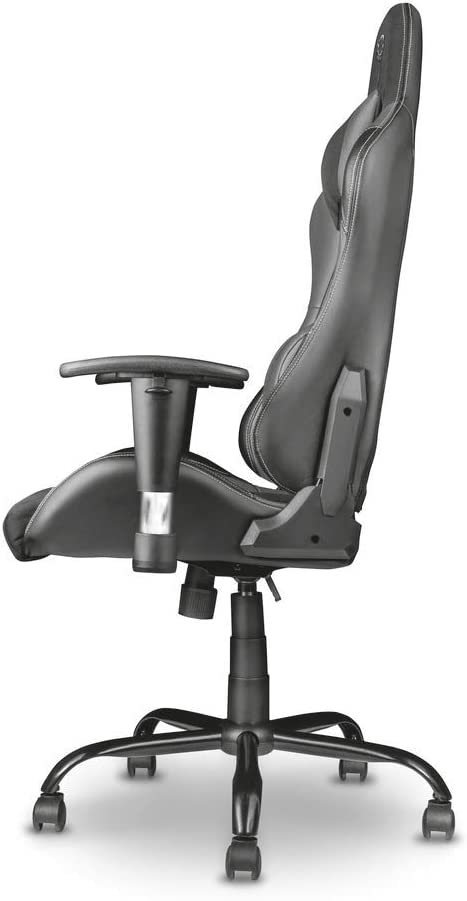 Trust Gaming GXT 707R Resto - Silla para Gaming, Color Rojo Gris/Negro
