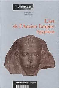 Book's Cover ofL'art de l'Ancien Empire égyptien