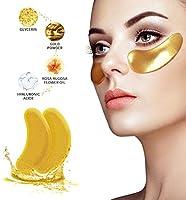 Under Eye Patches - Under Eye Mask for Dark Circles Collagen Eye Mask for Puffy Eyes Under Eye Bags Treatment Gold Eye...