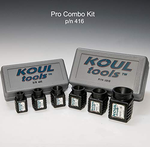 Koul Tools AN Pro Combo Kit Includes 468 and 1016 (-4 AN, -6 AN, -8 AN, -10 AN, -12 AN, -16 AN) by Koul Tools (Image #3)