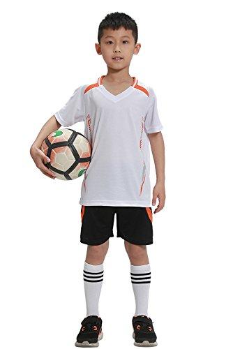 E Da Bambino Bianco Uomo Bozevon Estate Tessuto Confortevole Sportivo Con Abbigliamento Maglia Calcioin tqtn6HX
