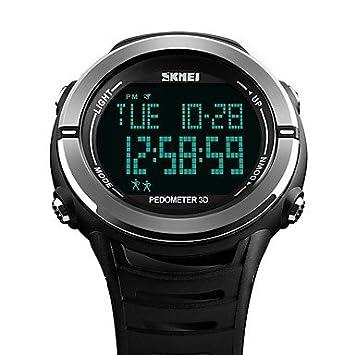 XKC-watches Relojes para Hombres, SKMEI Hombre Pareja Reloj Digital Chino Digital Calendario Resistente
