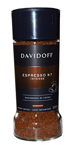Davidoff Cafe Espresso 57 Instant Coffee, 3.5-Ounce Jars (Pack of 2) ()