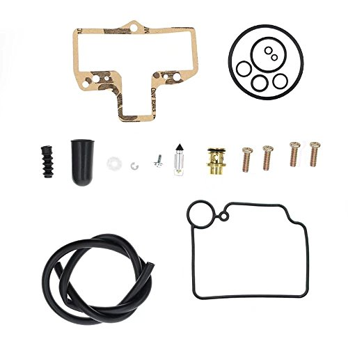 Paddsun Carburetor Carb Rebuild Kit Repair For Mikuni HSR42/45 Smoothbore KHS-016 Harley HARLEY TWIN CAM EVO BIG TWIN