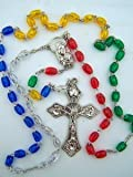 Amazon Price History for:Multi Color Bead Madonna Christ Child Center World Mission Daily Prayer Rosary