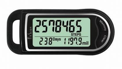Tanita PD733F FitScan 3 Axis Pedometer – 14 Day Memory