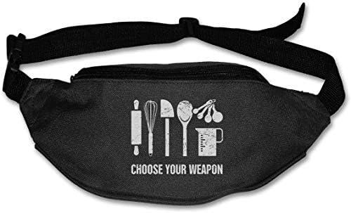 武器を選択ユニセックスアウトドアファニーパックバッグベルトバッグスポーツウエストパック