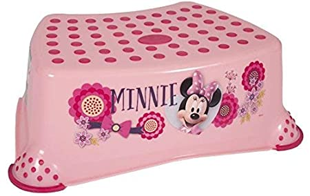 Paw Patrol Large Step Stool - Non-Slip Surface and Feet - Holds up to 200lbs Ginsey