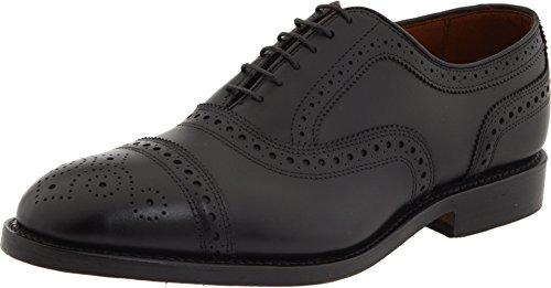 Allen Edmonds Mens Strand Cap Toe Black Custome Calf - 6.5 E -
