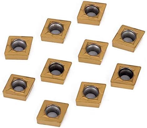 GENERICS LSB-Werkzeuge, 1 stück S10K-SCLCL06 Halter + 10 Stücke CCMT060204 Wendeschneidplatten + T8 Schraubenschlüssel for Drehwerkzeug