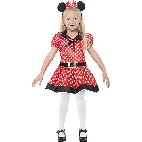 Cute Minnie Mouse Halloween Costumes (Cute Mouse Kids Costume)