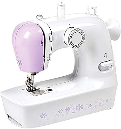 WANNA.ME - Máquina de coser portátil eléctrica doméstica con 12 ...
