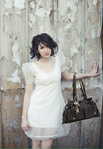 De Verde Alice Cuero Bolso Collection Catwalk Hombro qTpxYtRw