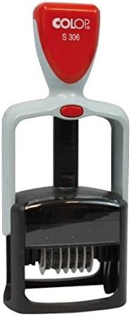 Timbri Colop Numeratore S306 6 cifre mm 4